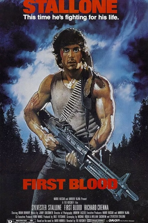 Affiche FIRST BLOOD - Rambo